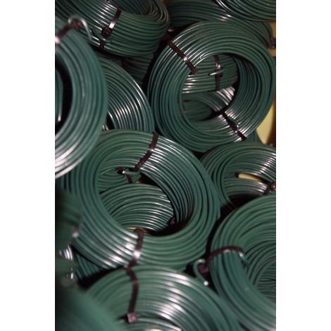 ALAMBRE PLASTIFICADO VERDE 1,6/2,8 MM X 10M. 39073
