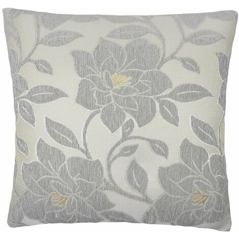 """Alan Symonds Peony 18"""" Teal Cushion Cover Floral Cushion Cover"""