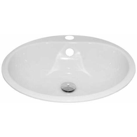 Alape EW 3 Einbaubecken kreisförmig, Durchmesser 475 mm 2005000000 Weiß EW3