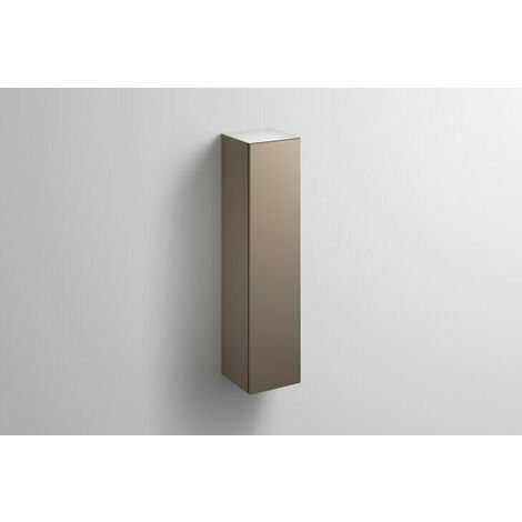 Alape tall cabinet HS.FO1250.L, W: 300mm H: 1246mm D: 303mm, 6323990010, Colour (front/body): Lacquer satin moonstone - 6323990011