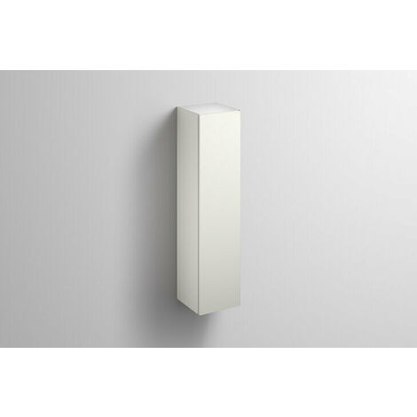 Alape tall cabinet HS.FO1250.L, W: 300mm H: 1246mm D: 303mm, 6323990010, Colour (front/body): Lacquer satin white - 6323990014