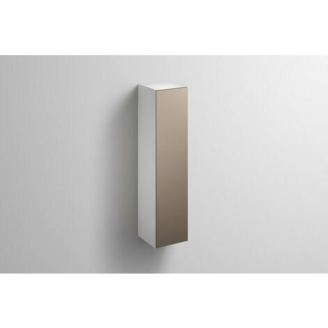 Alape tall cabinet HS.FO1250.R, W: 300mm H: 1246mm D: 303mm, 6323690010, Colour (front/body): Lacquer satin moonstone - 6323690011