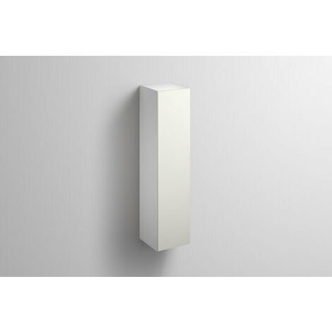 Alape tall cabinet HS.FO1250.R, W: 300mm H: 1246mm D: 303mm, 6323690010, Colour (front/body): Lacquer satin white - 6323690014