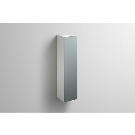 Alape tall cabinet HS.FO1250.R, W: 300mm H: 1246mm D: 303mm, 6323690010, Colour (front/body): Silk matt lacquer Fossil grey - 6323690010