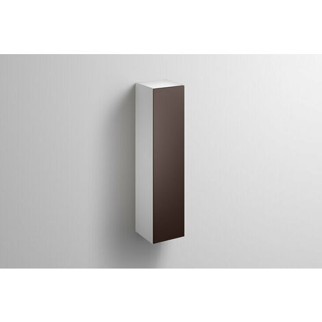 Alape tall cabinet HS.FO1250.R, W: 300mm H: 1246mm D: 303mm, 6323690010, Colour (front/body): Silk matt lacquer Shadow earth - 6323690013