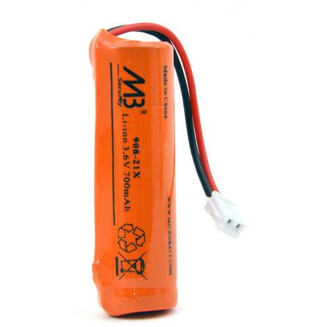Alarm battery 908-21X (LIC14500) 3.7V 700mAh JST