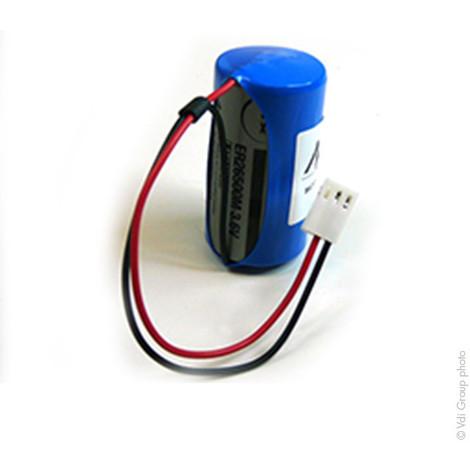 Alarm battery BATLI01 3.6V 6.5Ah Molex