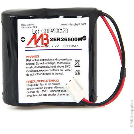 Alarm battery BATLI06 MB 7.2V 6.5Ah