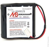 Alarm battery BATLI06 MB 7.2V 6.5Ah