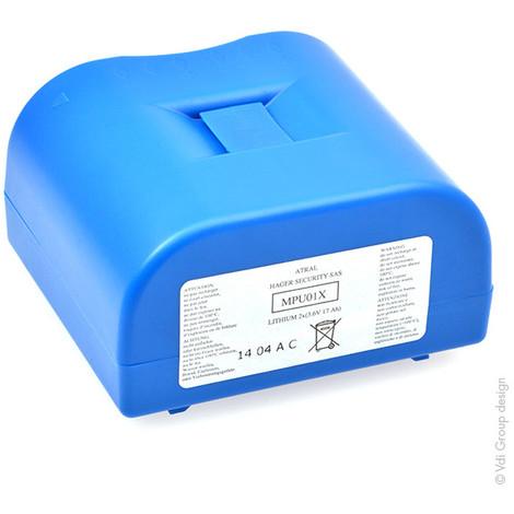 Alarm battery DAITEM MPU01X 3.6V 17Ah
