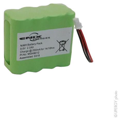 Alarm battery for Visonic 9.6V 2Ah