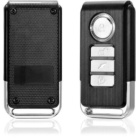 Alarma de vibracion de ventana de bicicleta, alarma antirrobo, a prueba de agua