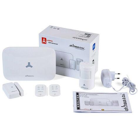 Alarma Gsm + Sensor Movimiento + Puerta / Ventana + 2 Mandos - GREUTOR - Oha5050..