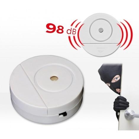 Alarma inalámbrica (98 dB) puertas ventanas SAFE ALARM - antirrobo para el hogar