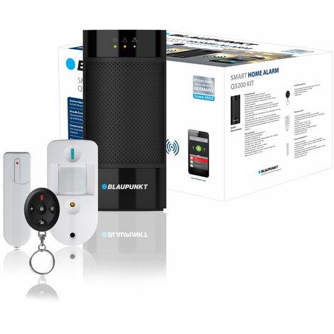 Alarma inalambrica Blaupunkt Q3200 compatible con Alexa/Google Home con sistema anti-inhibición + control vía App
