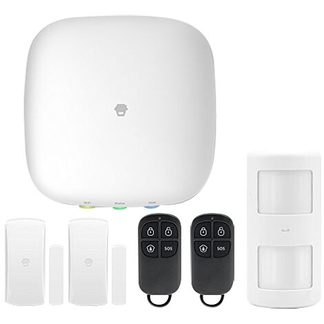 Alarma Inalámbrica Chuango H4 - Plus Tactil H4-plus GSM y Wifi para el hogar u oficina con aplicación para movil y notificaciones push