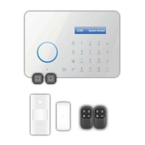 Alarma Inalambrica Panel Tactil B11 GSM y Linea PSTN Con Accesorios CHUANGO
