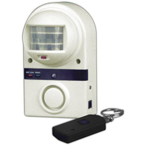 Alarma por infrarrojos con mando a distancia. Sin instalación 50.619 Electro Dh 8430552070909