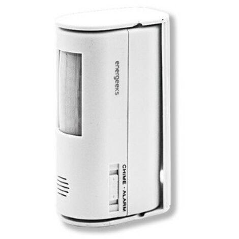 Alarma Timbre Mini Energeeks Pl Bl C/Detector Mvto. Eg-Alt00