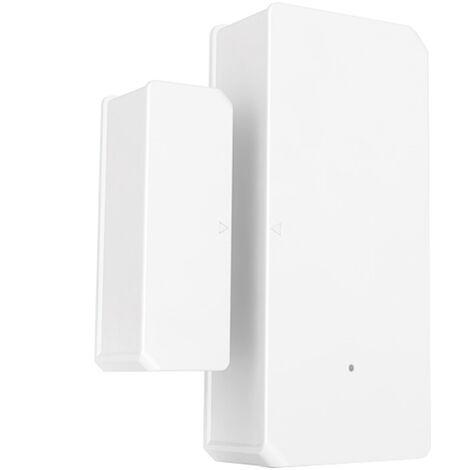 Alarma ventana de la puerta del sensor inalambrico Wifi DW2 SONOFF alarma del sensor Abrir / Detectores cerrados inalambrico de automatizacion alarma antirrobo de e-APP Welink Notificacion de alertas de seguridad Smart Home