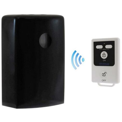 """main image of """"Alarme 2-en-1 sans-fil autonome : Détecteur de mouvement sirène intégrée + Télécommande + Capot de protection (gamme BT)"""""""