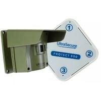 Alarme d'allée 800 mètres sans-fil avec détection de passage extérieur - PROTECT 800 (1 récepteur, 1 détecteur)