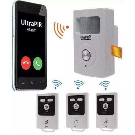 Alarme GSM 3-en-1 sans-fil autonome - UltraPIR 3G + 3 télécommandes nouvelle génération (gamme BT)