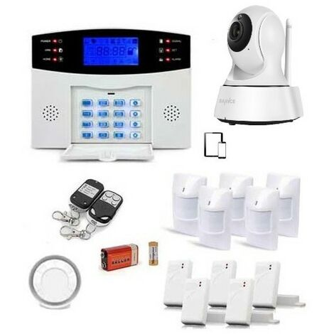 Croissant Alarme gsm, 99 zones xxl et camera ip et caméra - EGYLm2bgsmx5ip JC-56