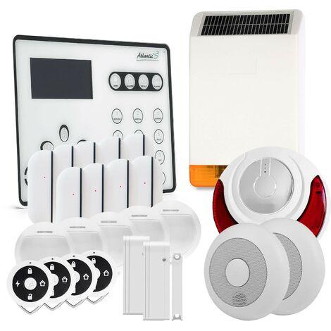 Alarme GSM Atlantic'S ATEOS - Kit 11 - Blanc