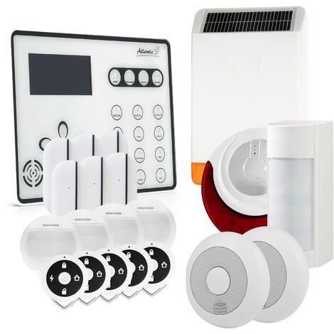 Alarme GSM Atlantic'S ATEOS - Kit 12 - Blanc