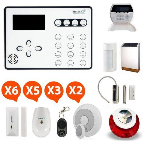 Alarme GSM Atlantic'S ATEOS - Kit 13