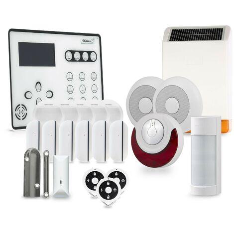 Alarme GSM Atlantic'S ATEOS - Kit 13 - Blanc