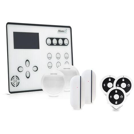 Alarme GSM Atlantic'S ATEOS - Kit 2 - Blanc