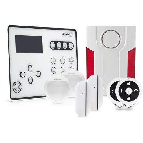"main image of ""Alarme GSM Atlantic'S ATEOS - Kit 3 - Blanc"""