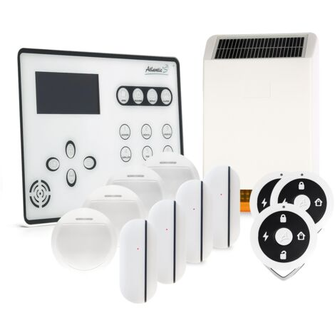 Alarme GSM Atlantic'S ATEOS - Kit 4 (MD-326R) - Blanc