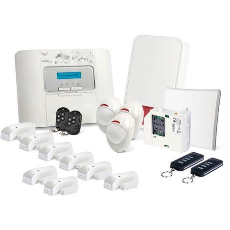 Alarme GSM Visonic Powermaster 30 Kit 03 - Blanc