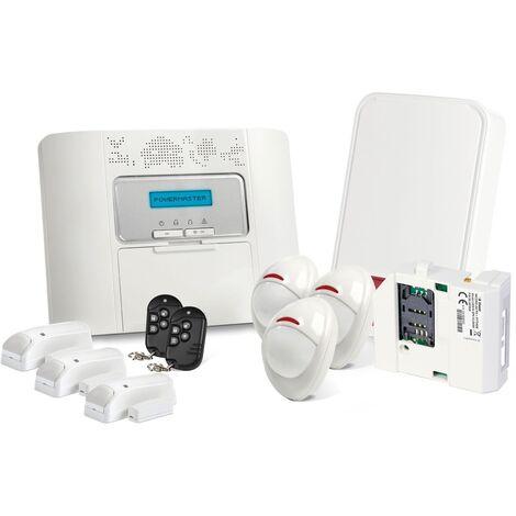 Alarme GSM Visonic Powermaster 30 Kit 6 + - Blanc