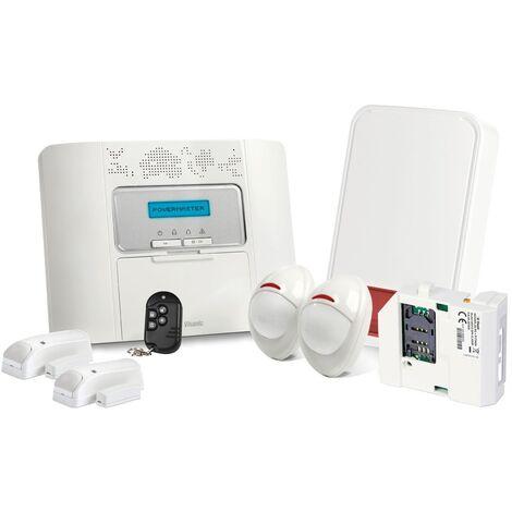 Alarme GSM Visonic Powermaster 30 Kit 7 + - Blanc