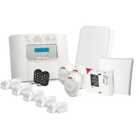 Alarme GSM Visonic Powermaster 30 Kit 8 + - Blanc