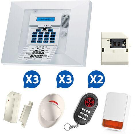 Alarme GSM Visonic PowerMax Pro - Kit 6 + - {couleurs}