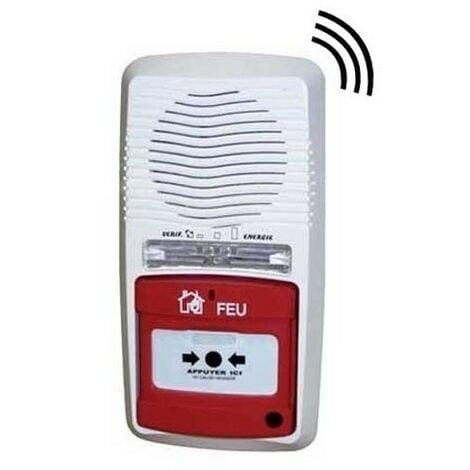 Alarme Incendie Type 4 Radio À Pile
