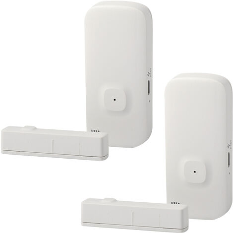 Alarme Intelligente De Porte Et De Fenetre Wifi, 2 Packs