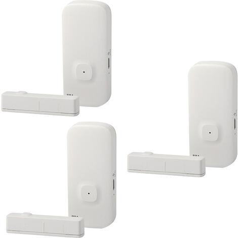 Alarme Intelligente De Porte Et De Fenetre Wifi, 3 Packs
