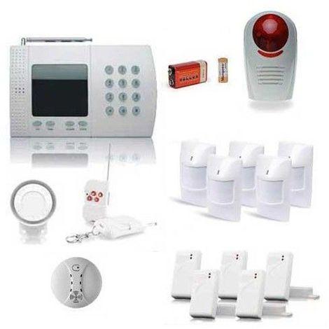 Alarme Maison De 6 Zones Xxl Securite Box