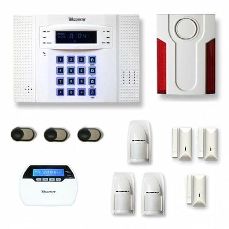 Alarme maison sans fil DNB21 Compatible Box internet