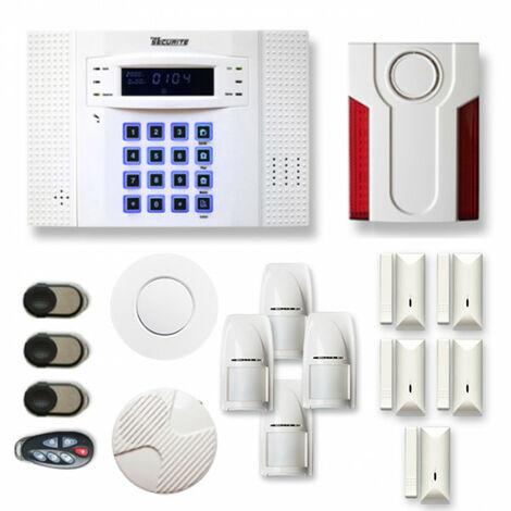 Alarme maison sans fil DNB22 Compatible Box internet