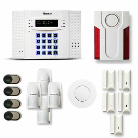 Alarme maison sans fil DNB26 Compatible Box internet