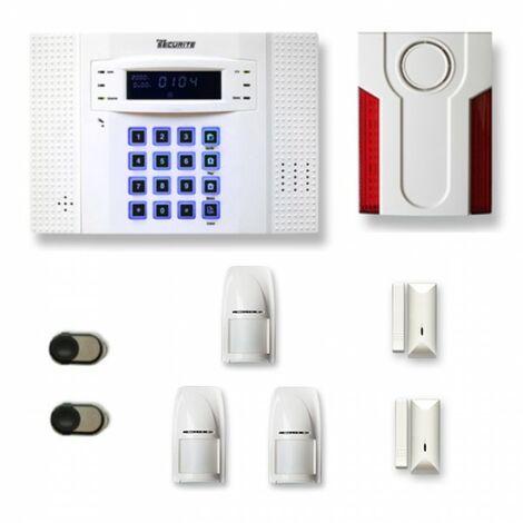 Alarme maison sans fil DNB27 Compatible Box internet et avec option GSM incluse