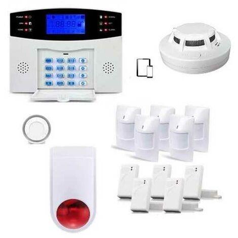 Alarme Maison Sans Fil Gsm , 99 Zones Xxl Box