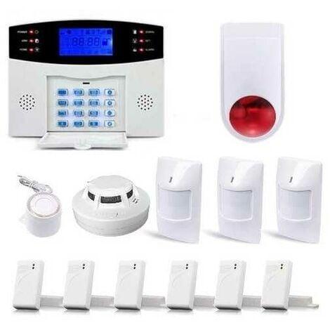 Alarme Maison Sans fil GSM , 99 zones XXL BOX avec sirène